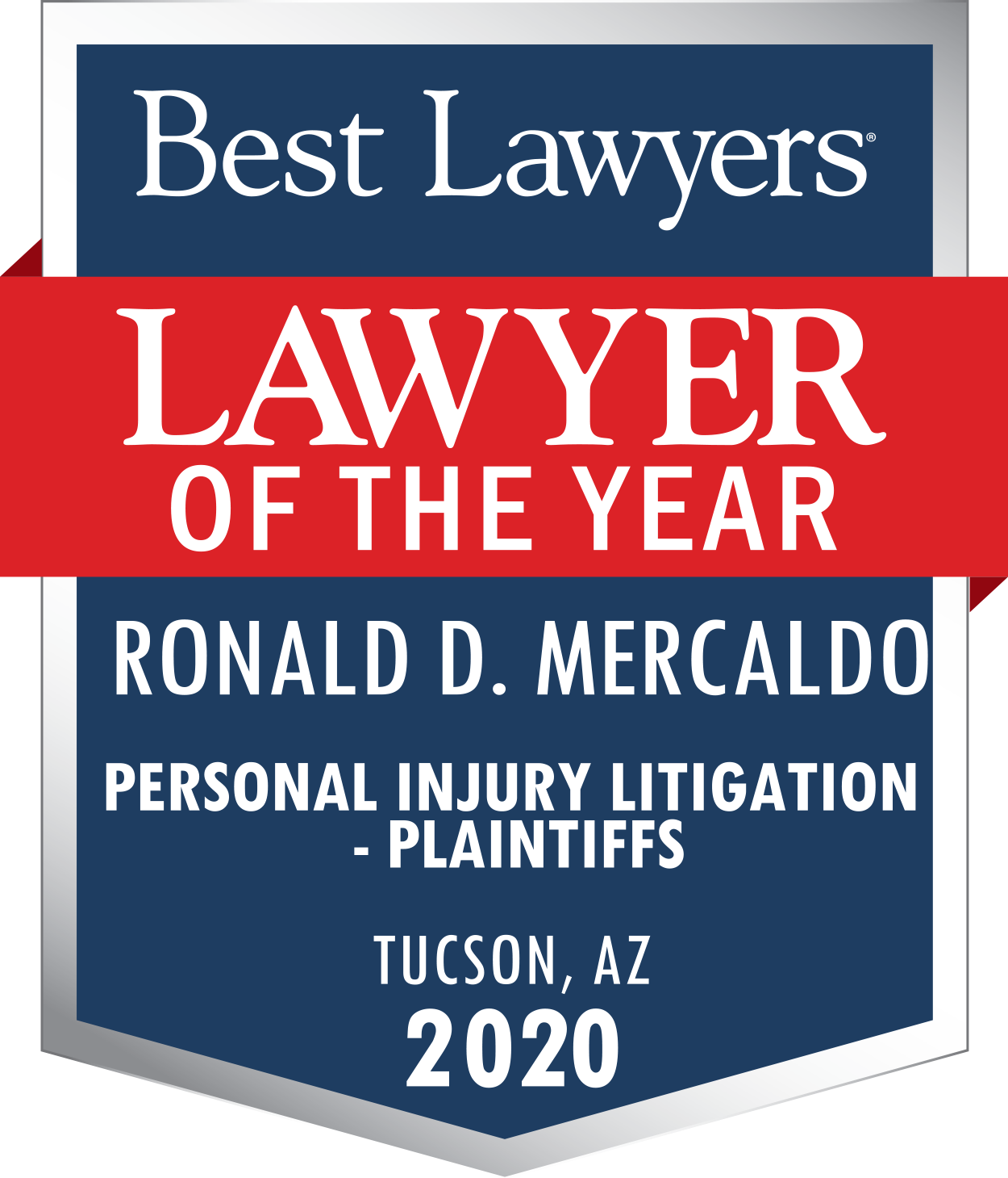 RonMercaldo Lawyer Of The Year